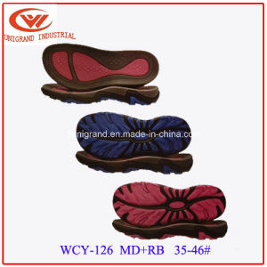 2016 Unisex Outdoor Sandals Sole Fashion EVA Rb Outsole for Making Flip Flop  pictures & photos