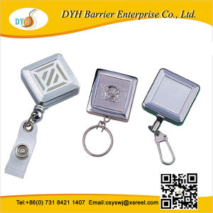 Top Quality Promotion Square Badge Reel, Square Badge Reel Metal