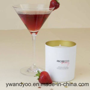 100% Soy Scented Candle in Glass Jar with Lid
