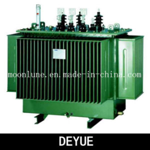 Power Transformer S14 Three-Dimensional Wound Core Oil-Immersed Transformer