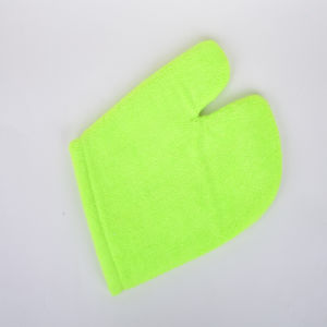 Green, Superfine Fiber Clean Gloves