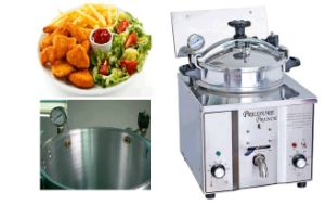 Small Basket Deep Fryer, Pressure Fryer Table Top Mdxz-16 pictures & photos