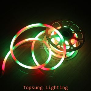 New Product 240V RGB Chasing LED Outdoor Neon Rope Lighting Strips