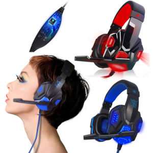 Best USB 3.5mm LED Surround Stereo Gaming Headset Headband Headphone with Mic for PC