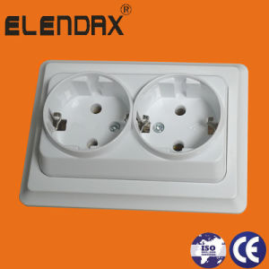 Schuko Waterproof Socket Outlet (F7510) pictures & photos