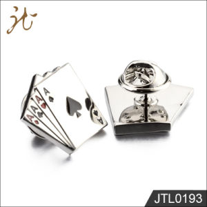Fashion Nice Quality Poker Design Cuff Buttons for Jewelry pictures & photos