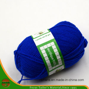 High Quality 100% Polyester Knitting Yarn (HAA 9S/2) pictures & photos
