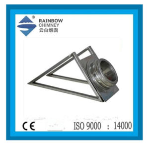 Ce Stove Chimney Pipe Support Wall Base & Trigonal Bracket pictures & photos