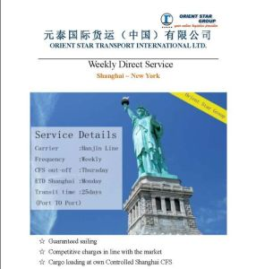One Stop Logistics Provider From Shanghai to New York, Ny