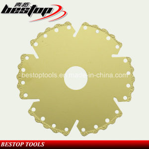 Vacuum Brazed Diamond Disc for Ceramic and Porceline Tile Fast Cutting pictures & photos