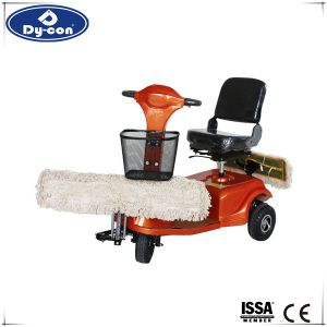 Flexible Small Ride on Dust Cart for Warehouse 007 pictures & photos