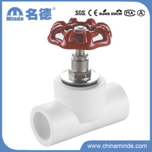 PPR Normal Stop Valve for Building Materials pictures & photos