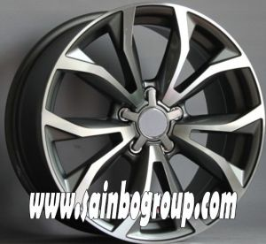 F1038 Hot Sale Vacuum Chrome Replica Alloy Wheels pictures & photos