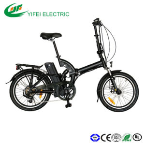 20 Inch High Speed Foldable Electric Bike Rear Shock En15194 pictures & photos