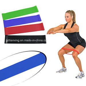 Latex Stretch Band/Latex Exercise Loop Band/Latex Aerobic Band pictures & photos