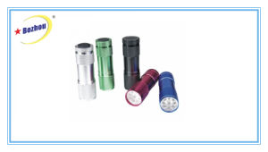 2016 New Product New Design Colorful LED Mini Flashlight Torch pictures & photos
