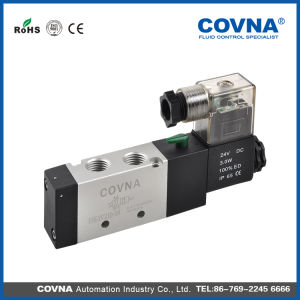 Covna 5 Way Solenoid Valve for Pneumatic