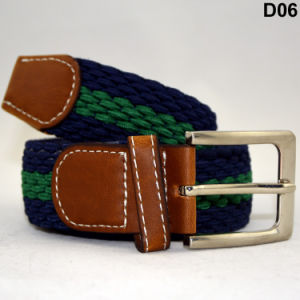 D06 Waterproof Casual Woven Stretch Braided Elastic Running Belt pictures & photos