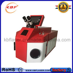 High Speed YAG Spot Auto Portable Laser Jewelry Welder pictures & photos