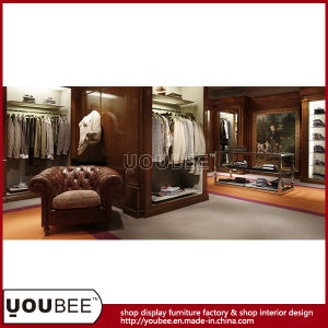 European Style Shopfitting, High End Garment Display Fixtures From Factory