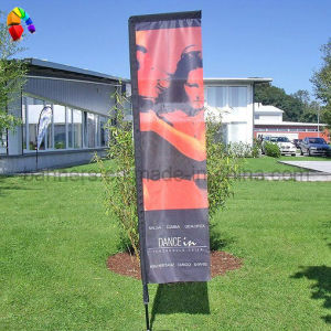Custom Banner Flag with Dye Sublimation Printing pictures & photos
