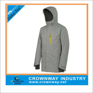 Nylon Lightweight Sports Grey Parka Jacket for Men pictures & photos