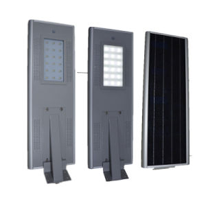 18W Integrated Solar Street Light with Solar Panel pictures & photos