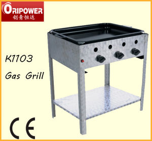 11kw 3-Burner Gas BBQ Grill (K1103) pictures & photos