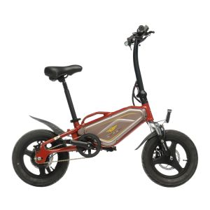 14′′ Electric Folding City Bicycle with 36V 250W Wattage