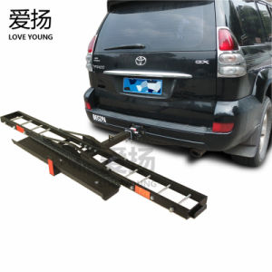 Auto Parts Durable Hitch Mount Bike Rack Motorcycle Carrier