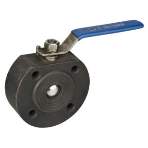 European Standard Cast Stainless/Carbon Steel Wafer Type Flange Ball Valve