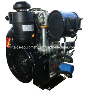 Twin Cylinder Air Cooled Diesel Engine 25 HP (292F) pictures & photos