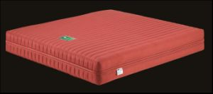 Red Classical Spring Mattress with Zipper Design pictures & photos