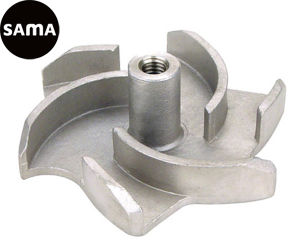 Steel Investment Precision Lost Wax Casting for Water Pump Impeller pictures & photos