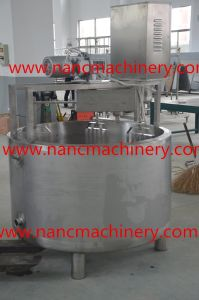 Food Sanitary Stainless Steel Steam Cheese Vat pictures & photos