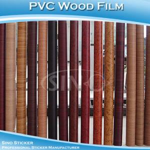 Grainy Decorative Film Wall Sticker Wood Furniture Sticker