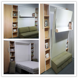 Super Furniture Bed E Saver Wall High Quality Fold Down With Sofa