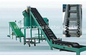 Grain Transmission Belt / Sidewall Conveyor Belt with Skirt and Cleat