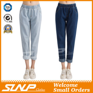 Europe Style Woman Girls Denim Jeans Nine Pants Clothes