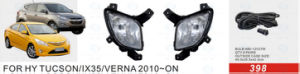Front Fog Lamp for Hyundai Tucson/IX35/Verna 2010-on