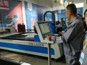 Fast Speed CNC Metal Fiber Laser Cutting Machine pictures & photos