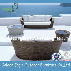 Special Design Rattan Furniture Yin Yang Sofa Set