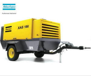 Xahs186 (10.4m3/min 12bar) Atlas Copco Portable Screw Air Compressor