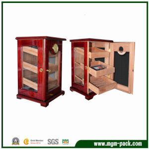 Charming Wooden Cigar Cabinet with Drawers pictures & photos