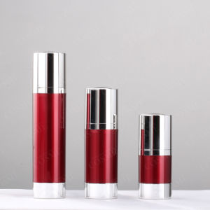 15g 30g 50g Aluminium as Cosmetic Airless Pump Bottle
