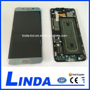 China Original Touch Screen LCD for Samsung Galaxy S6 Edge