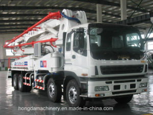 42m Concrete Pump with Boom pictures & photos