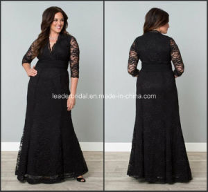 Black Lace Mother of Bride Dress Evening Dresses Z7053 pictures & photos