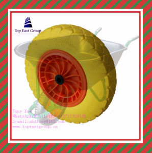Good Quality Long Life PU Foam Wheel with 350-8 400-8