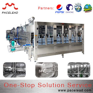 Interior Washing Machine for 3-5 Gallon Filling Processing Line Applied in Water Production Line